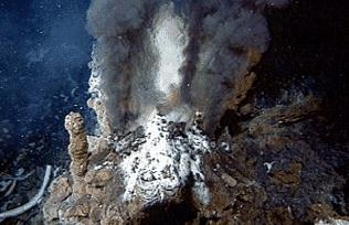 The Oceans Chimneys Hydrothermal Vents